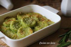 Gnocchi alla romana con zucchine - ricetta senza uova