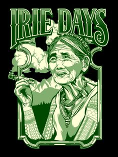 Irie Days Clothing Designs for Irie Days Clothing Typo Logo Design, Shirt Logo Design, King Queen Tattoo, Qhd Wallpaper, Rick And Morty Poster, Vape Art, Marijuana Art, Mickey Mouse Cartoon, Stoner Art