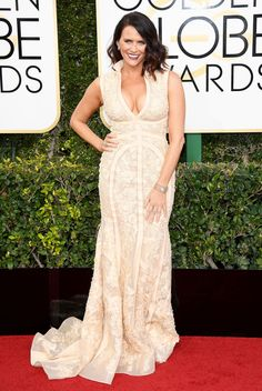Amy Landecker Dress: Tony Ward Couture Golden Globes After Party, Bad Fashion, Nice Dresses, Formal Dresses, Tony Ward, Red Carpet Fashion, Timeless Fashion, Frocks