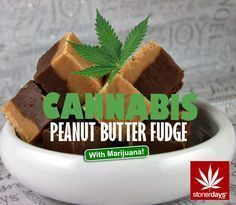 Stoner Cookbook; Cannabis Peanut Butter Fudge | Repined By 5280mosli.com | Organic Cannabis College | Top Shelf Marijuana | High Quality Shatter Cannabis Edibles, Marijuana Butter, Weed Butter, Marijuana Cookies, Weed Recipes, Marijuana Recipes, Stoner Snacks, Stoner Food, Erdnussbutter Fudge