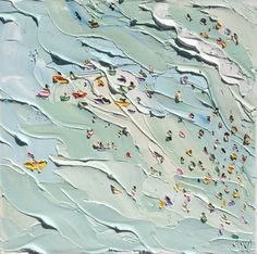 KAB Gallery   Surfers & Swimmers – Plein Air - Sally West