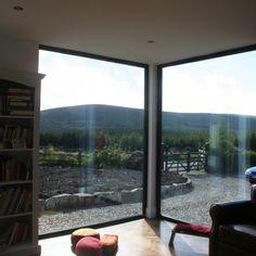View to Knocknadruce - Dermot Bannon Decor Favorites, House Design, House Extensions, House, Cottage, Window Seat, Interior Design Inspiration, Bungalow House Design, Modern House