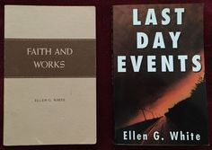 Ellen G White Duo: Faith and Works ~ Last Day Events SDA EGW Adventist PB Books
