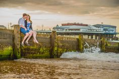 Cromer Pier Norfolk Engagement Shoot. www.jameskphoto.co.uk