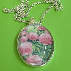Hey, I found this really awesome Etsy listing at https://www.etsy.com/listing/108029378/peony-rose-pendant-necklace