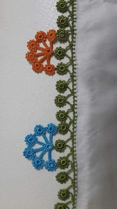 This post was discovered by Ebru KANLI. Discover (and save!) your own Posts on Unirazi. Crochet Edging Patterns, Crochet Borders, Tatting Patterns, Baby Knitting Patterns, Cotton Crochet, Knit Or Crochet, Crochet Stitches, Needle Tatting, Needle Lace