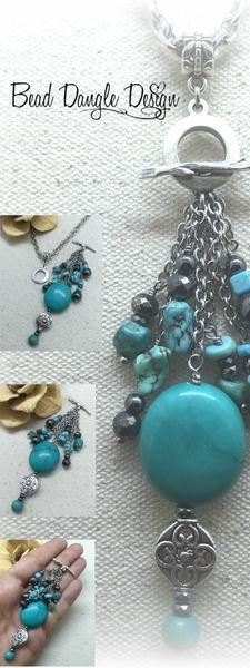 Unique Beaded Necklaces – Bead Dangle Design