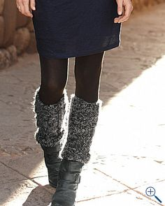 So fashionable, and they really do keep your legs warm!