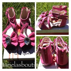 Cute pink sandal  Sizes 5-10  $14.00