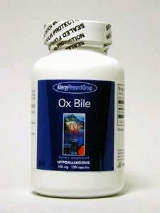 Allergy Research Group - Ox Bile 500 mg 100 vcaps >>> Want additional info? Click on the image.