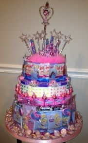 Disney Princess Candy Tower From Artful Favors