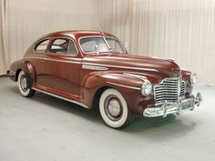 1941 Buick Special----just before World War II when cars were no longer made and tanks were made instead.