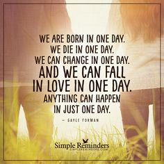 http://www.loalover.com/anything-can-happen-in-just-one-day/ - Anything can happen in just one day