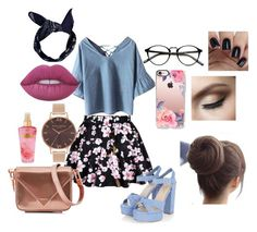 """""""Pinup Chic"""" by astewart224 on Polyvore featuring Chicnova Fashion, Boohoo, Casetify, Lime Crime, Alexander Wang, Victoria's Secret and Olivia Burton"""