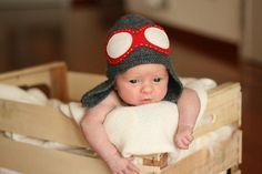 Cappello da pilota dallo shop TreMelarance - accessori - cappelli - bambini  - su ulaola.com be4b368695e1