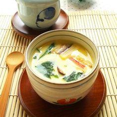 レンジで簡単☆茶碗蒸し+by+snow+kitchen☆+さん+|+レシピブログ+-+料理ブログのレシピ満載! 火が通りやすい材料を使ってレンジで作れる茶碗蒸し☆ ふんわり美味しいです♪