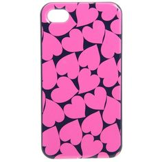 Marc by Marc Jacobs Big Hearted Phone Case ($38) ❤ liked on Polyvore