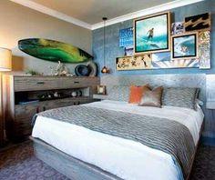 Surfing room