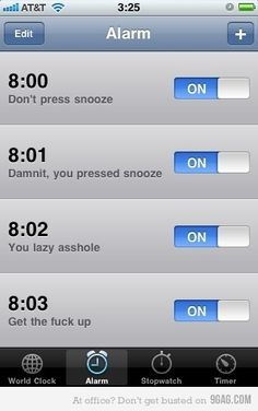 This is actually what my alarm looks like