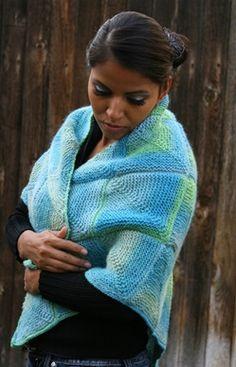 LiLi Mai Shawl from http://www.knittingboard.com/product_p/ptnllsh.htm