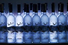 Fifty Shades of Grey Wedding Accessories - Grey Goose Cocktails!
