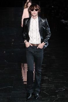 05d601fe414 Saint Laurent Spring 2019 Menswear Fashion Show