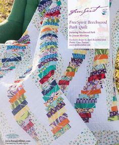 Beechwood Park Quilt: a free quilt pattern.