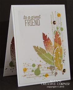 Alex's Creative Corner: Feathers for a friend