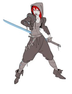 Shadowrun lady - Imgur