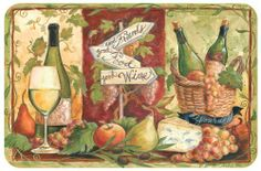Counter Art Wine Tasting Room Reversible Placemat by Counter Art. $2.79. Indoor/Outdoor Use. Made in USA. Made of decofoam plastic, this Wine Tasting two-sided placemat by Counter Art features beautiful wine graphics & vibrant colors. The uniquereversible feature provides two coordinating designs in one placemat.Easy to clean & store, placemat measures 17 1/8'' x 11 1/4''.