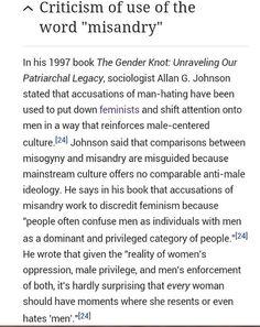 #misandry #misogyny #feminism #sociology