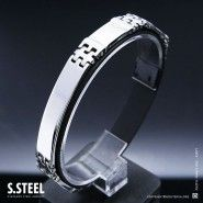 Men's stainless steel bracelet JOSHUA III M-172