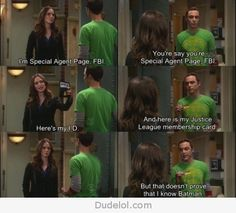 One of my favorite Sheldon moments!