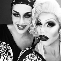 This witch ❤️ Adore Delano and Sharon Needles