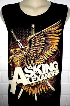 Asking Alexandria Rock Band Music Metal T Shirt par BestRockShirts, $12.90