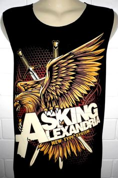 Asking Alexandria Rock Band Music Metal T Shirt par BestRockShirts, $12.90
