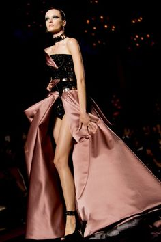 Versace Couture fall 2014