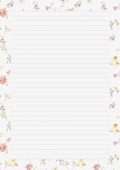 Printable Lined Paper, Free Printable Stationery, Printable Frames, Printable Scrapbook Paper, Text Background, Paper Background, Instagram Frame, Notebook Paper, Journal Paper