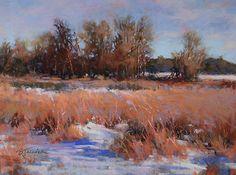 One December Day by Barbara Jaenicke Pastel ~ 9 x 12