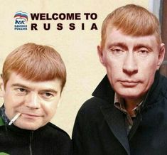 Путин says. Welcome to Russia, Meester Trump
