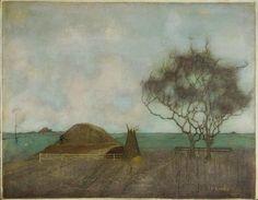 Jan Mankes, Landschap met kleihoop