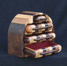 Hannibal, Handmade Wooden Jewelry Box