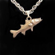 Snook Fish Pendant