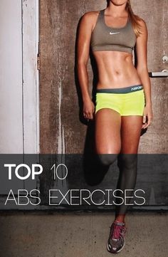 Just do 12 reps of each of these exercises every 2 days to get great abs!