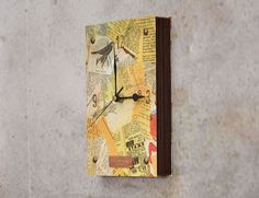 ReFab Diaries: Upcycle: Time for a good Book (Clock) ....