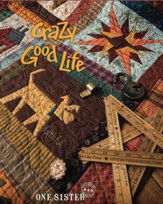 "Janet Rae Nesbitt on Instagram: ""Cover Reveal! I'm so excited to share my upcoming book, Crazy Good Life! Many of you that were unable to participate in the original One…"" Wool Applique, Applique Quilts, Boys And Girls Club, Boy Or Girl, Crazy Life, Life Is Good, Christian Companies, Pumpkins For Sale, Crazy Sister"