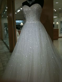 I am going to have the most expensive dress in the world.....