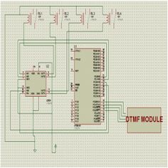 Mobile Controlled Home Automation Circuit Diagram