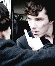 Shh.. I'm going to tell you a thing... sorry... couldn't help it... Irene Adler and Sherlock Holmes.