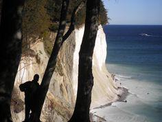 Was eine Steilküste - imposant